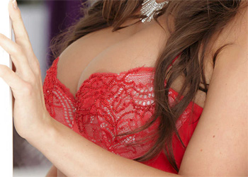 Abigail Mac Red Bra