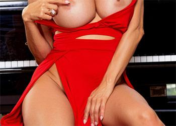 Alexis Fawx red dress