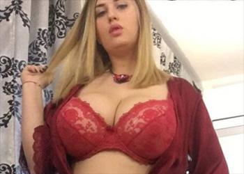 Alexsis Faye red silk
