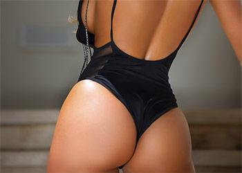 Ali Drew dat booty