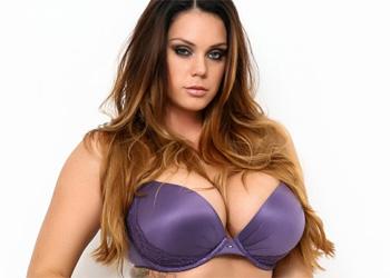 Alison Tyler Purple Lingerie Tits
