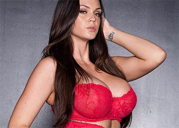 Alison Tyler Red Lingerie Vixen