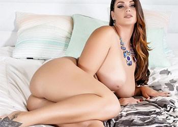 Alison Tyler hot white lingerie