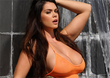 Alison Tyler Orange Bodysuit