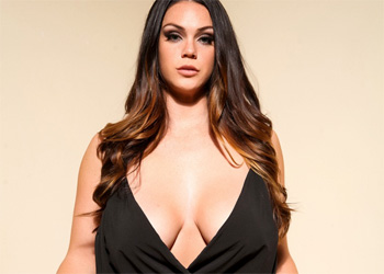 Alison Tyler Black Dress