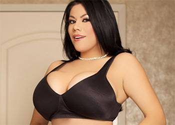 Ana Rica Black Bra and Stockings