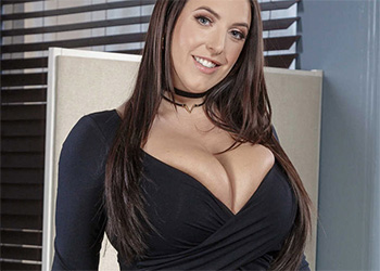 Angela White full service banking brazzers