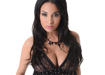 Anissa Kate Black Lingerie VirtuaGirl