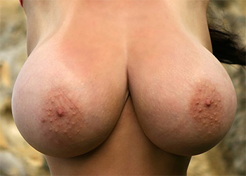 Anya Zenkova nude beach pinupfiles