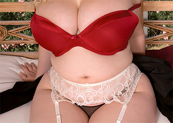 Ashley Sage Ellison garter curves