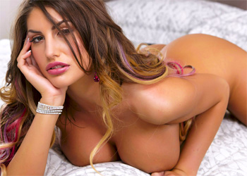 August Ames Stay In Bed