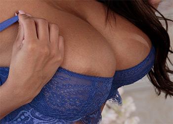 Autumn Falls blue corset
