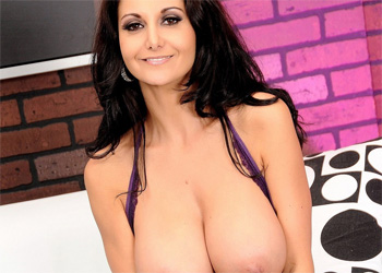 Ava Addams Royal Purple Lingerie