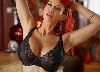 Bianca Beauchamp dress up lingerie