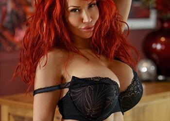 Bianca Beauchamp sexy lingerie