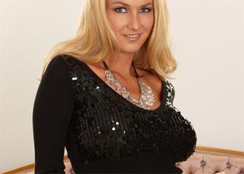 Blake Rose busty black dress