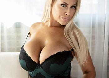 Bridgette B busty lingerie