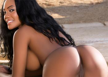 Brittany Kelly Poolside Pleasure Playboy
