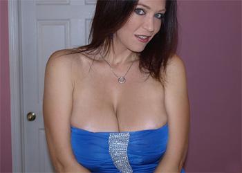 Charlee Chase Blue Dress Bedroom