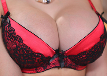 Chessie Kay Busty In Red
