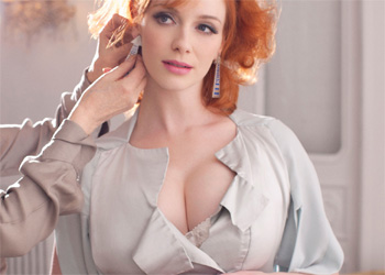 Christina Hendricks Busty Celeb Beauty