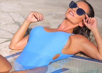 Christy Ann fitness bikini