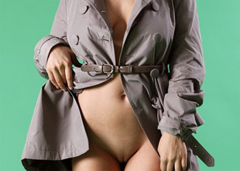 Conchita Open Coat Nudes