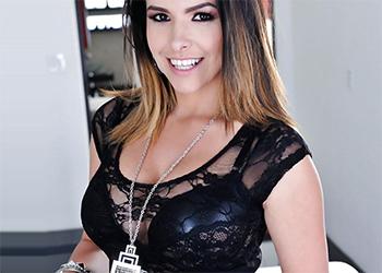 Danica Dillion Black Lingerie Twistys