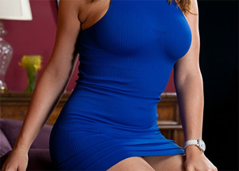 Dayna Vendetta Tight Blue Dress