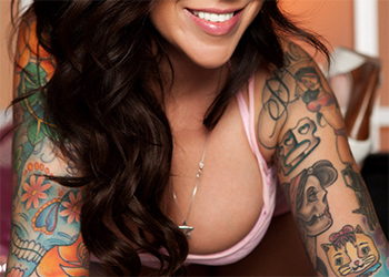 Emily Parker Tattooed Babe Penthouse