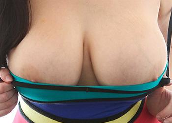 Envy striped dress tits
