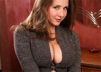 Erica Campbell Sweater Boobs Pinupfiles