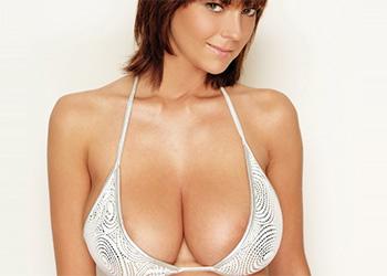 Gabrielle busty bikini