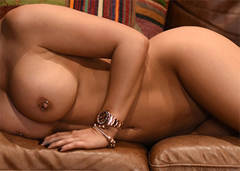 Gemma Massey Nude Couch