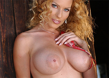Goldie Jones Busty Redhead