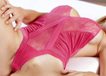 Heather Vandeven Pink Lingerie
