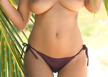 Holly Peers Tropical Nudes