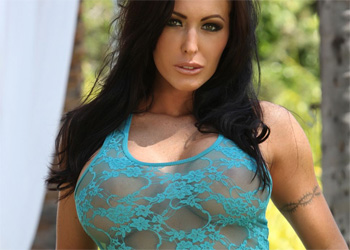 Jenna Presley Denim Skirt Aziani
