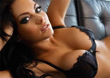 Jessica Jane Clement Sexy Lingerie Model