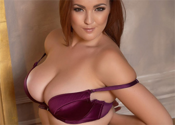 Jodie Gasson Purple Dress