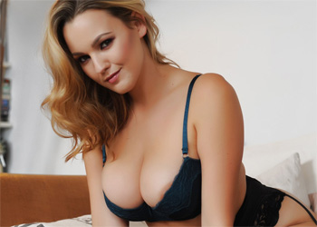 Jodie Gasson Dark Blue Lingerie