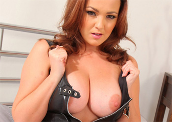 Jodie Gasson Leather Dress