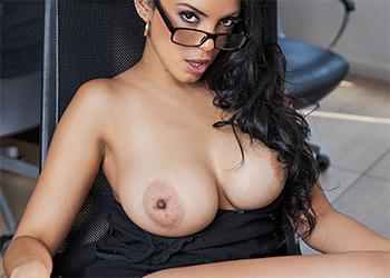 Katrina Moreno back to the grind badoinkvr