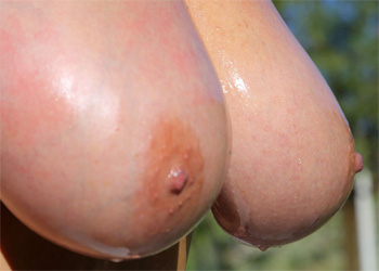 Kelly Madison Oiled Tits
