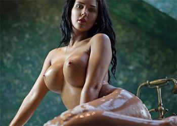 Kendra Nude Bath Photodromm