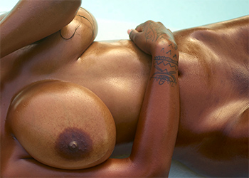 Kiky Nude Ebony Beauty