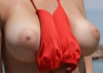 Kirstie Patterson Bikini Tits