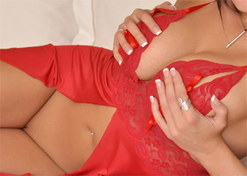 Sweet Krissy Red Sheer