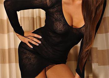 Kt So Asian Beauty Black Dress