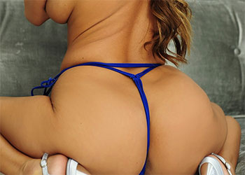 Kt So blue lace ass